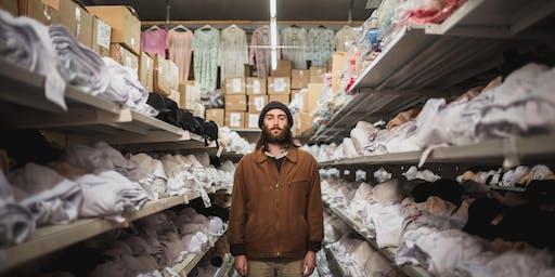 Pear O'Legs Records at West Street Kitchen: Jamie Cruickshank + Emily Isherwood