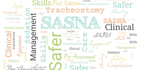 Simulation - Safer Airway and Sedation in Non Anaesthetists (SASNA) Course tickets