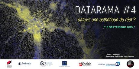 Datarama #4 : dataviz une esthétique du réel ? tickets