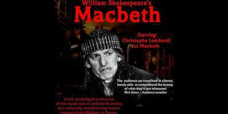 William Shakespeares Macbeth tickets