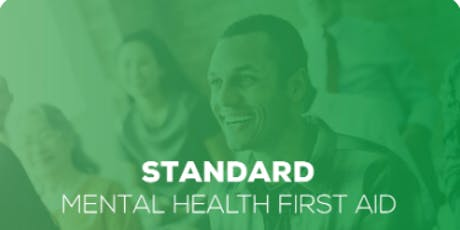 Mental Health First Aid Course - Standard MHFA (2-day) tickets
