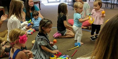 Child and Me Music Class 6 week session