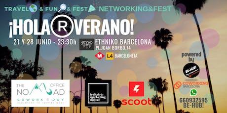 TRAVEL&FUN&FEST (Networking&Fest) - Ethniko BARCELONA 28 JUNIO entradas