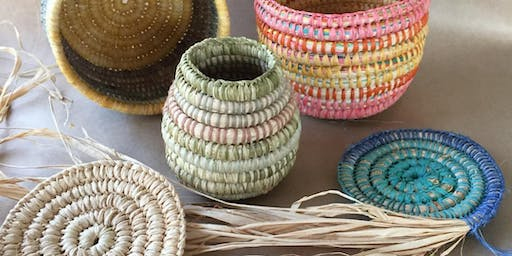 Winter Yoga + Basket Weaving Workshop