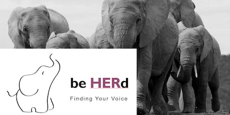 Be HERd - Finding your voice tickets