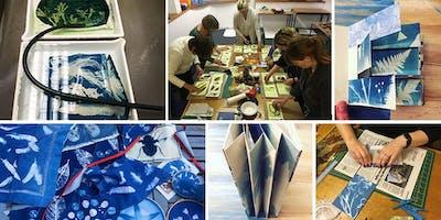 Cyanotype & Bookbinding Workshop