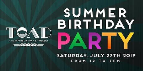 The Oxford Artisan Distillery 2nd ANNUAL PARTY tickets
