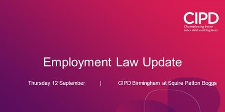 Employment Law Update tickets