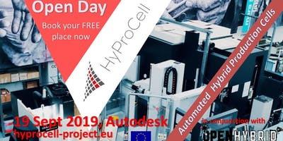 HyProCell Open Day, 19 Sept 2019, Autodesk, Birmingham, UK
