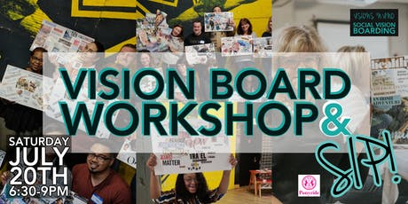 Vision Board Workshop & Sip! tickets
