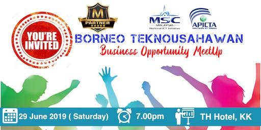Borneo TeknoUsahawan MeetUp ( KK , Sabah )