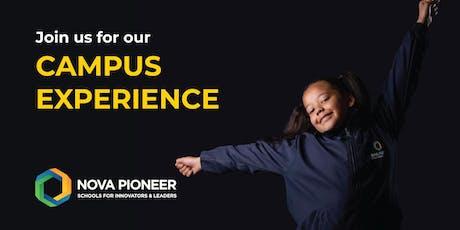 Nova Pioneer Campus Experience - North Riding tickets