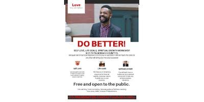 Do Better! A workshop for positve change.