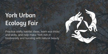 York Urban Ecology Fair - onboard the Arts Barge! tickets