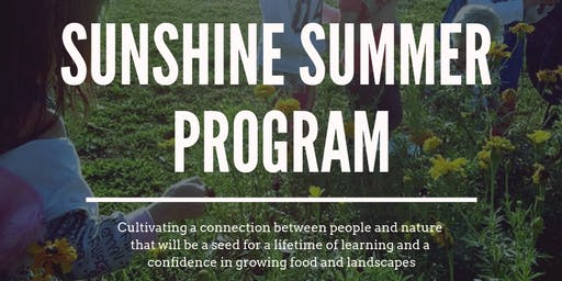 Sunshine Summer Days Program at the Farm (2-5yrs + Caregiver)(6-weeks)WED