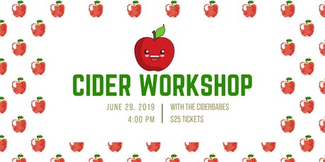 How to Make Yummy Cider 101 tickets