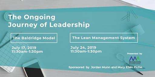 The Ongoing Journey of Leadership | Presented by Mission Accomplished Transition Services
