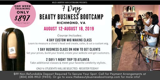 7 Day Beauty Business Bootcamp