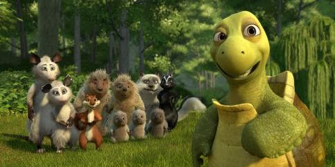 Over The Hedge; Monday 12th Aug, 2pm
