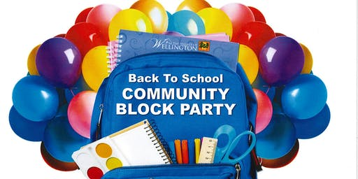 Wellington's Back To School Block Party