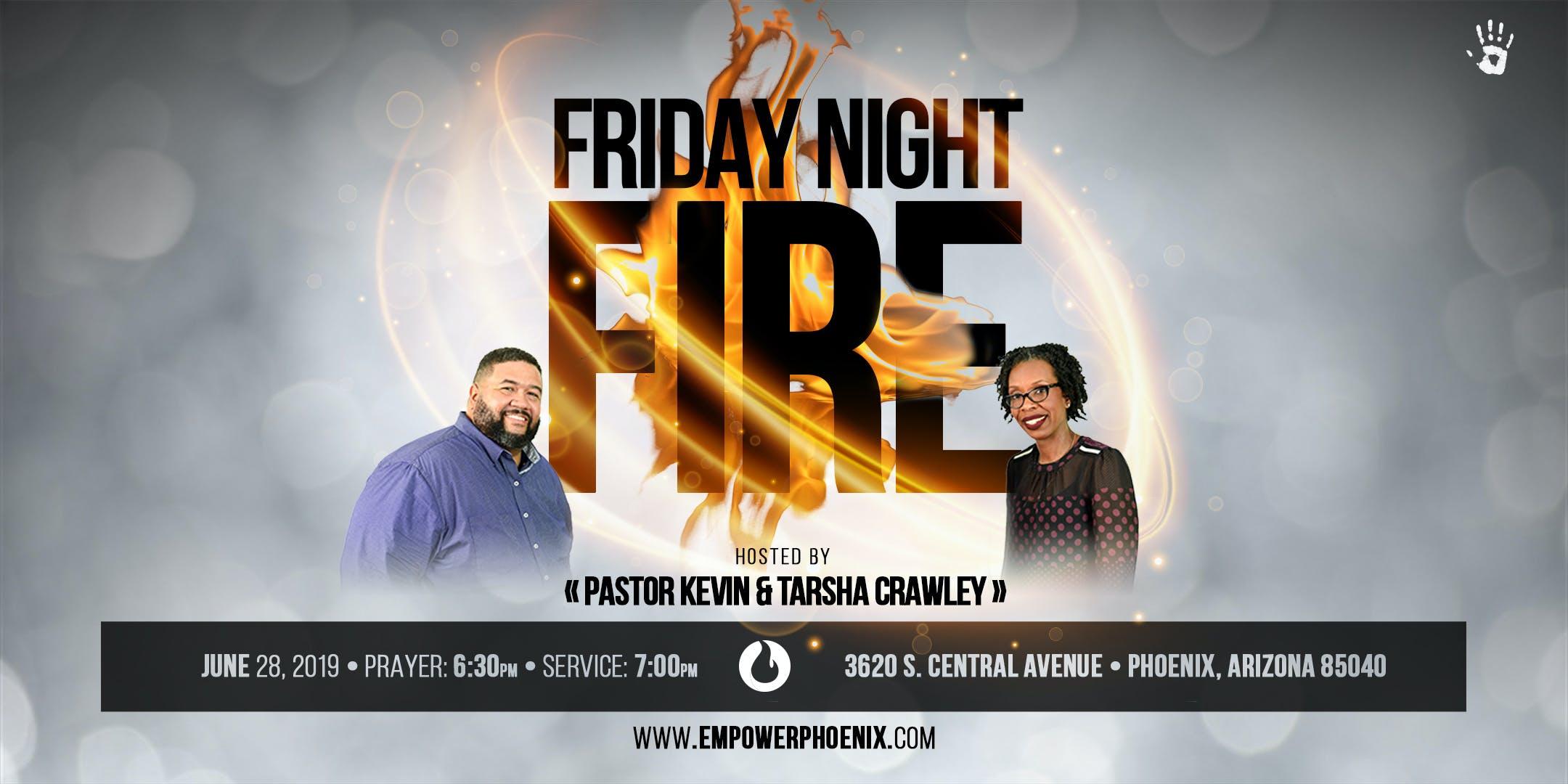 Friday Night Fire - June