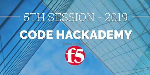Code Hackademy : Bootcamp !