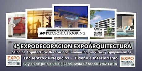4°Expo Decoracion Expo Arquitectura Expo Interiorismo  Decoración Iluminación Madera Muebles entradas