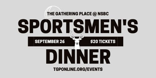 Sportsmen's Dinner 2019 with Dr. Grant Woods