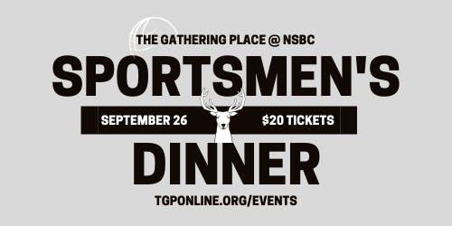 Sportsmen's Dinner 2019 with Dr. Grant Woods