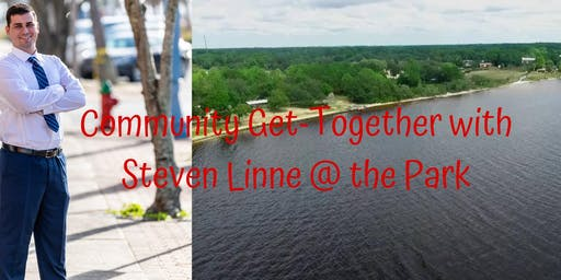 Community Get-together with Steven Linne at the Park