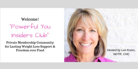 Powerful You Weight Loss Group! tickets