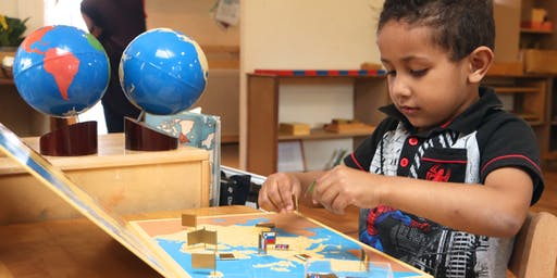 Montessori Early Years education - 20th July Open Afternoon - online live-stream