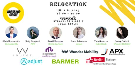 Workshop Circle - Relocation tickets