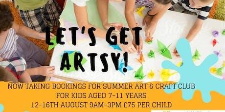 Kids Art & Craft Summer Camp tickets