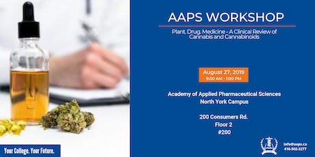 Plant. Drug. Medicine - A Clinical review of Cannabis and Cannabinoids tickets