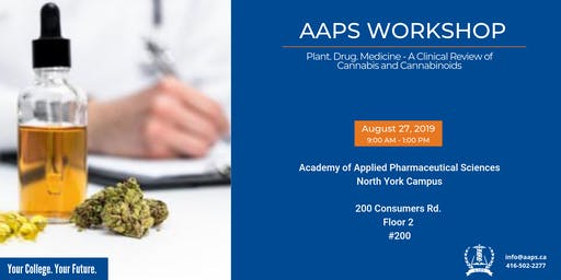 Plant. Drug. Medicine - A Clinical review of Cannabis and Cannabinoids