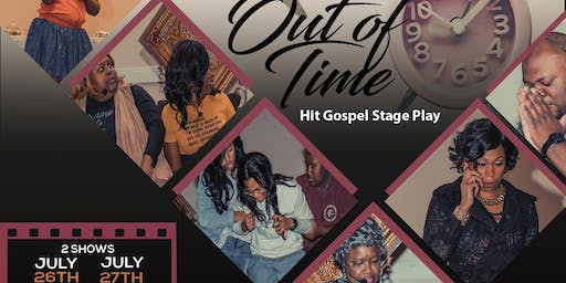 "Alonzo Williams Presents "" Running Out Of Time"" The Hit Stage Play"