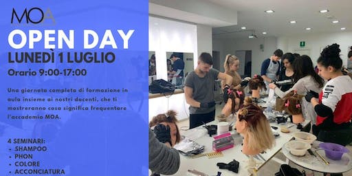OPEN DAY - Vivi l'esperienza all'accademia MOA