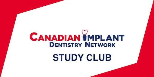 Canadian Implant Dentistry 2019 STUDY CLUB