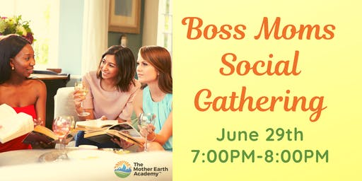 Boss Moms Social Gathering