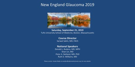 New England Glaucoma 2019 tickets