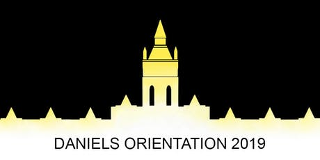 Daniels 2019 Orientation tickets