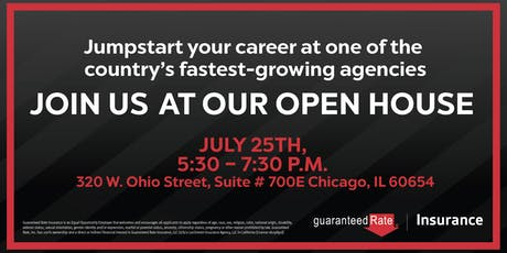 Guaranteed Rate Insurance Open House tickets