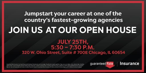 Guaranteed Rate Insurance Open House