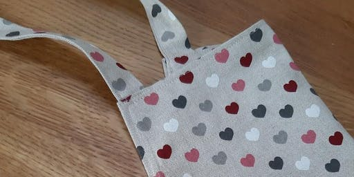 Learn to Sew a Kitchen Apron at 'Crafty Fridays' with The Hemming Bird