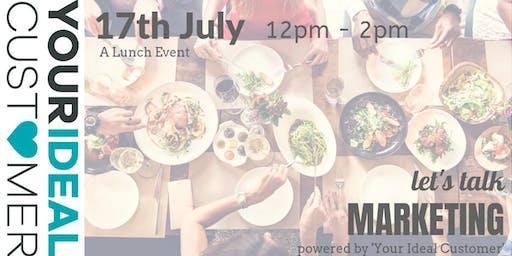 Let's Talk Marketing July