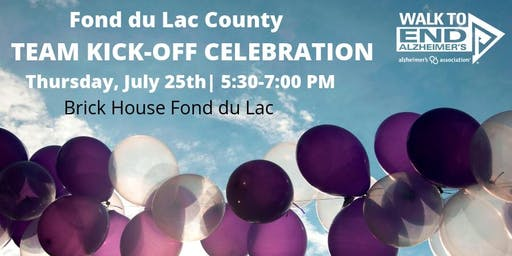 Kick-Off Celebration - Fond du Lac County Walk to End Alzheimer's