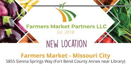 Farmers Market Partners-Missouri City tickets
