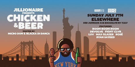 Chicken & Beer w/ Boom Boom Boom, Devolve, Fight Clvb, Luv, Max Glazer, Rosé & Ryan Sayeed @ Elsewhere (Rooftop) tickets