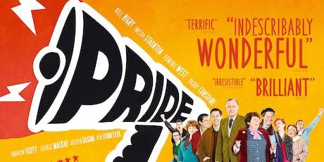 Projekcija filma Pride tickets